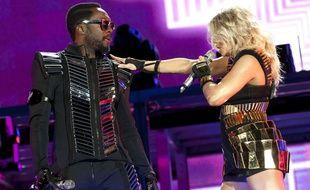 Les Black Eyed Peas en concert en 2011.