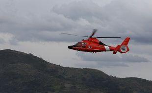 Un hélicoptère Dauphin (image d'illustration).