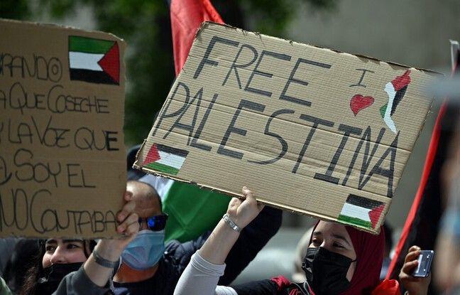 Conflit israélo-palestinien : Ailleurs en Europe, des milliers de manifestants pro-palestiniens défilent