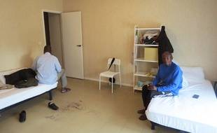 Près de 90 migrants sont installés au Clos-Toreau à Nantes