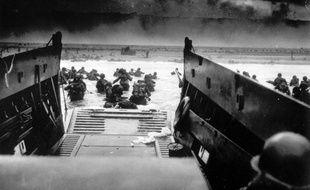 Débarquement allié sur les plages de Normandie, le 6 juin 1944.
