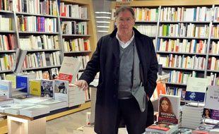 Charles Kermarec, ici en 2010 à la librairie Dialogue, a été mis en examen pour agression sexuelle.