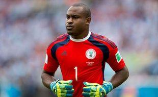 Le gardien du Nigeria Vincent Enyeama le 25 juin 2014 contre l'Argentine.