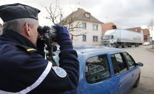 Image d'illustration d'un contrôle de la gendarmerie départementale.