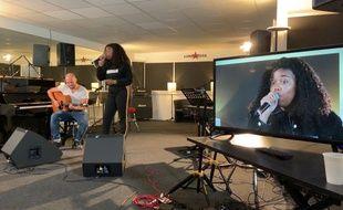 Toni, lors de son audition au studio Luna Rossa, le 29 août 2019.