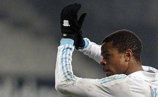 L'attaquant marseillais Loïc Rémy, le 15 février 2012, à Marseille.