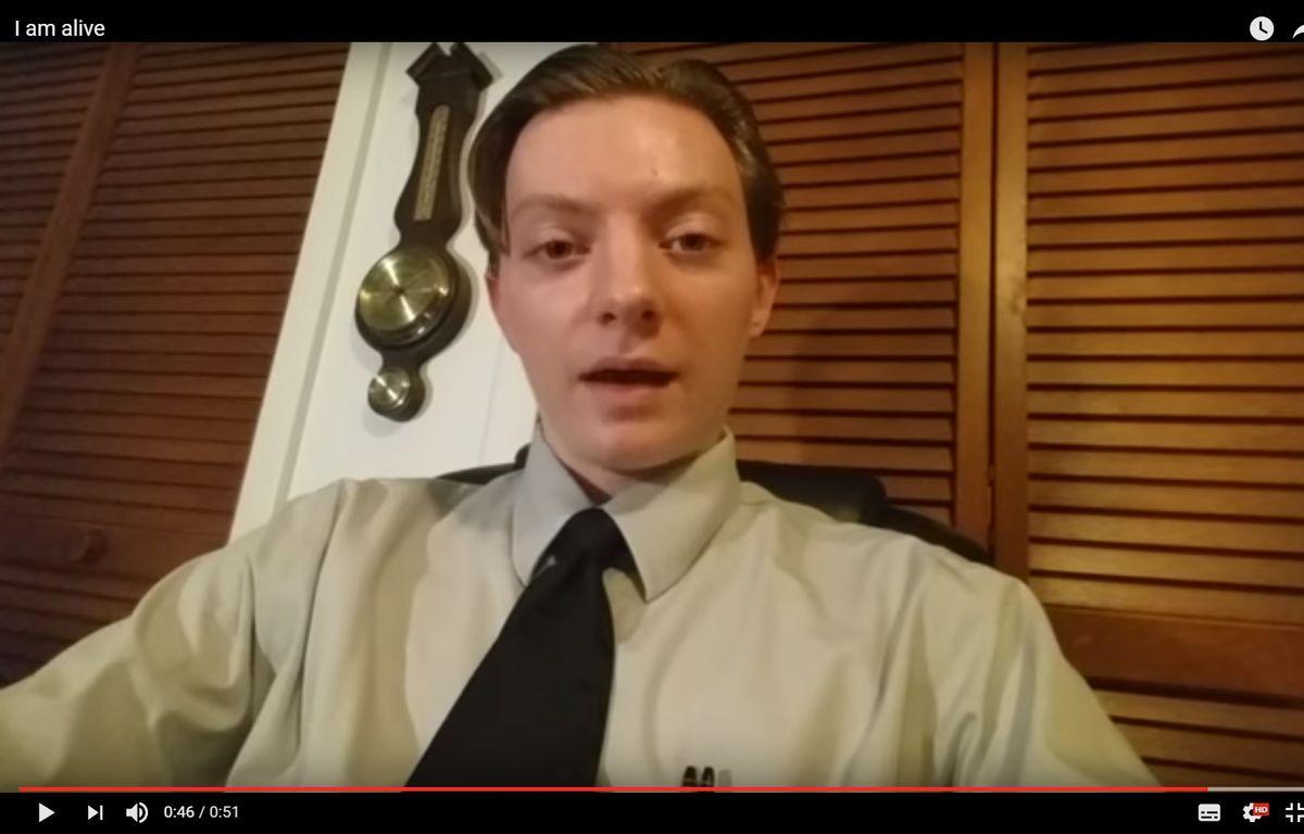 Le youtubeur John a été porté disparu après les attentats de Manchester...à tort – Screenshot TheReportOfTheWeek