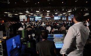 Conférence de presse à Rio, au Sommet des Nations unies sur le développement durable, le 18 juin 2012.