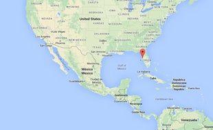 La ville d'Oldsmar en Floride