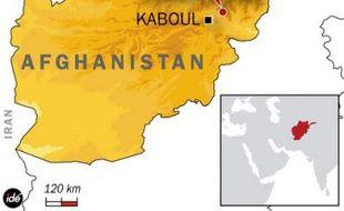 Carte de localisation de la vallée d'Alasay où un sous-officier français est mort le 11 janvier 2010 lors d'une attaque contre une patrouille franco-afghane