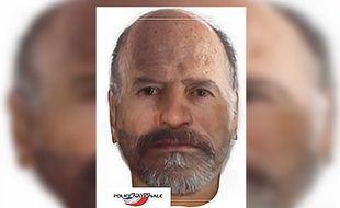 Reconstitution faciale de l'homme retrouvé mort en décembre 2018 à Hornaing.