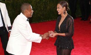 Beyoncé et Jay-Z à New York en juin 2014.