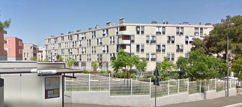 Le quartier de la Devèze, à Béziers.