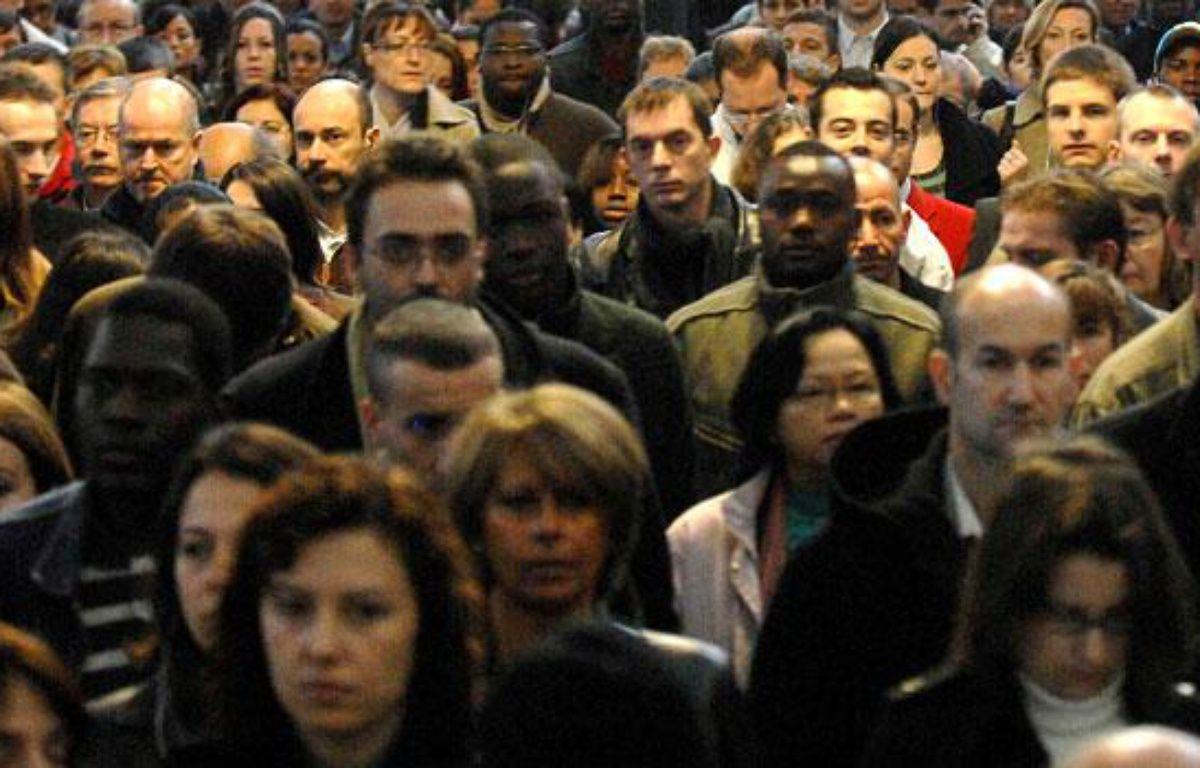 La diversité de la population française. – CHAMUSSY / SIPA