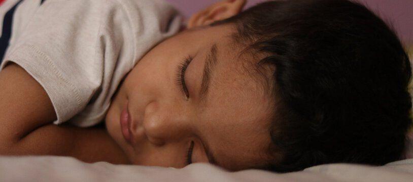 Le syndrome des enfants endormis touche des centaines d'enfants issus de famille demandant l'asile en Suède. (Illustration)