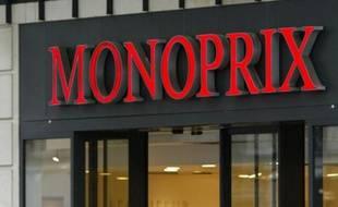 Illustration d'un magasin Monoprix.