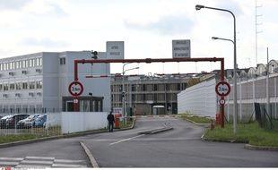 La prison Fleury-Merogis où Salah Abdeslam a été transféré, le 28 avril 2016.
