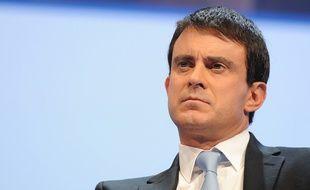 Manuel Valls au 95e Congrès des maires de France, en 2012.