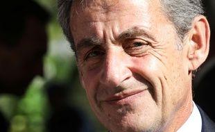 Nicolas Sarkozy, ancien président, le 19 septembre 2018 à Paris