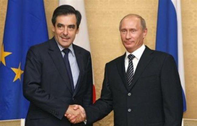 Vladimir Poutine et François Fillon, les Premiers ministres russe et français, ont insisté ensemble vendredi sur la nécessité de