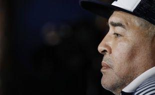 Diego Maradona, ici le 8 mars 2020.