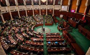 Le parlement tunisien. (illustration)