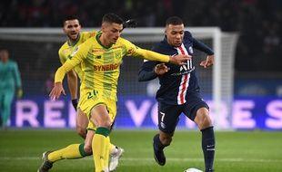 Mbappé face à Girotto le 4 décembre 2019.