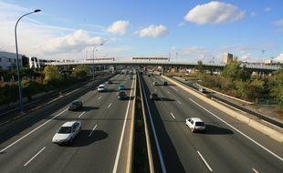 circulation automobile. périphérique est de  Toulouse.