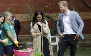 Meghan Markle et le prince Harry le 18 octobre 2018 à Melbourne