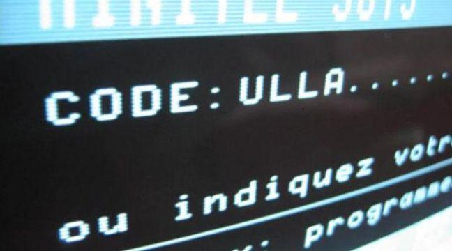 Capture d'écran d'une vidéo Youtube présentant la page Minitel 3615 Ulla. – 20MINUTES.FR