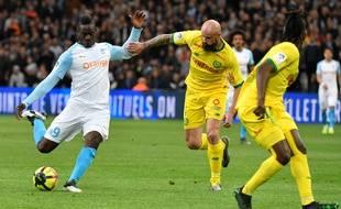 Balotelli empile les buts avec l'OM cette saison.