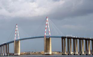 Le pont de Saint-Nazaire.