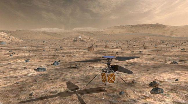 La Chine veut envoyer sa première sonde vers la planète Mars en juillet