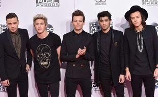 Le groupe One Direction en novembre 2014.