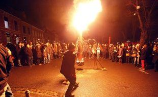 Ouverture d el'année Capitale européenne de la culture à Mons, le 24 janvier