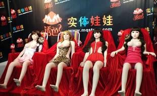 Les poupées sextoys se démocratisent en Chine, pays où il y a plus d'hommes que de femmes