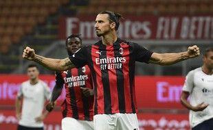Ibra a planté un doublé pour le premier match de la saison de l'AC Milan.