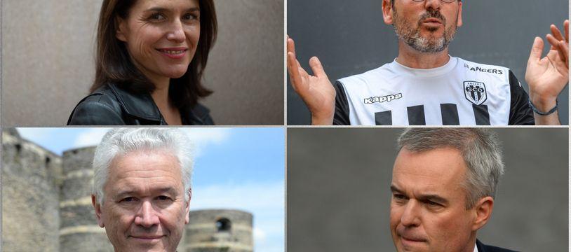 Christelle Morançais, Matthieu Orphelin, Hervé Juvin et François de Rugy se disputeron pour le second tour