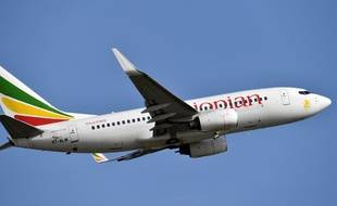 Un avion de la compagnie Ethiopian Airlines, illustration.