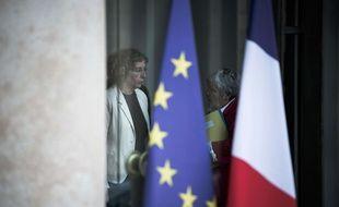 Muriel Pénicaud à la sortie du conseil des ministres le 28 juillet 2017.