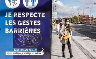 Le masque était déjà obligatoire dans les rues de Toulouse, il l'est désormais dans toutes les rues et les lieux publics de la Haute-Garonne.