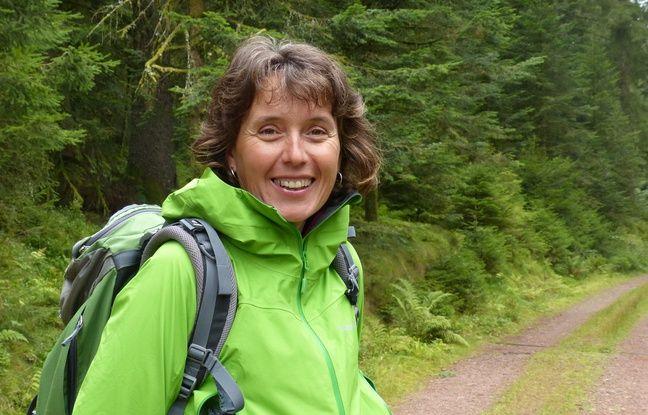 Sylvie Triboulot, à la tête de Sens à Sons Nature propose des bains de forêt et autres sentiers musicaux dans les Vosges.