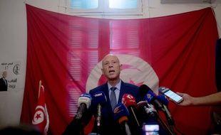 L'universitaire Kais Saied est arrivé en tête du premier tour des élections présidentielles en Tunisie.