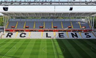 Le stade Bollaert de Lens en août 2015.