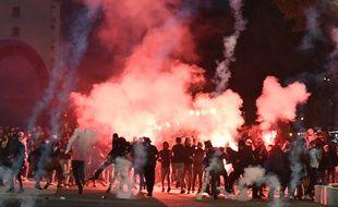 Des affrontements avaient déjà éclaté jeudi soir, avant le match OM-Lazio Rome.