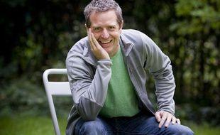 Hugh Howey, écrivain américain, auteur de Silo, à Paris, le 14 octobre 2013.
