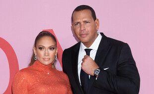 L'actrice et chanteuse Jennifer Lopez et l'ancien sportif Alex Rodriguez