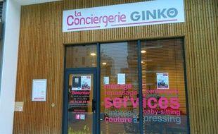 La conciergerie solidaire, installée à Ginko.