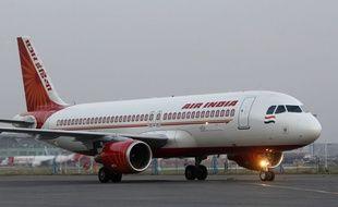 Illustration d'un avion de la compagnie nationale indienne Air India.