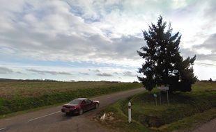 Le corps a été retrouvé dans un cabanon de jardin, à moins d'un kilomètre de l'endroit où a été découvert le corps calciné d'Alexia Daval à Esmoulins en Haute-Saône.
